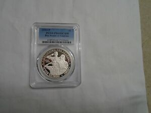 2010 P BOY SCOUTS OF AMERICA PROOF SILVER DOLLAR PCGS PR69DCAM 69