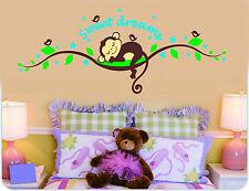 Wandtattoo Affe Wand Sticker Wandaufkleber Wand design Dschungel Kinderzimmer
