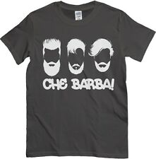 T-Shirt Che barba, maglietta antracite, frase divertente sulla moda del momento