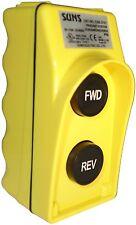 SUNS CSB-273Y UL Listed Yellow Forward/Reverse Pendant Control Station 9001BW73Y