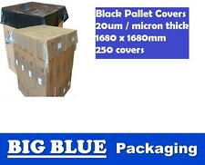 250 x Pallet Top Caps Cover protection shipping topcap sheet black 1680 x 1680mm