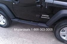 Jeep Wrangler JK 2 Door Mopar Side Steps Running Boards Factory OEM