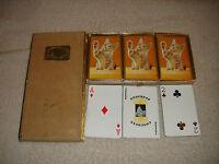 Vintage Congress Playing Cards Cel U Tone Finish Kitten Foot Up Samba Bolivia