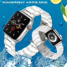 Clear Sport Strap Band For Apple Watch iWatch Series 5 4 3 2 1 38/40/42/44mm