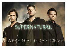 LARGE A5 GLOSSY PERSONALISED SUPERNATURAL BIRTHDAY CARD