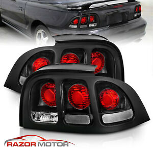 94 95 96 97 98 Ford Mustang V6 GT Dark Red Altezza Tail Lights Lamps