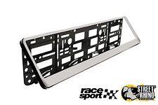 Honda FR-V Race Sport Chrome Number Plate Surround ABS Plastic