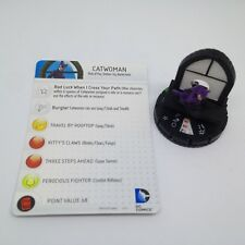 Heroclix DC 10th Anniversary set Catwoman #015 Uncommon figure w/card!