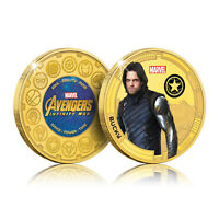Marvel Gifts Avengers Bucky Winter Soldier Infinity War Collectable Coin