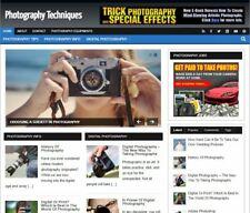 Photography Wp Blog Established Profitable Turnkey Wordpress Website For Sale