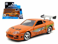 JADA 97345 THE FAST AND FURIOUS BRIAN'S TOYOTA SUPRA 1/32 DIECAST CAR ORANGE