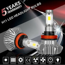 H11 Cree Led Low Beam Headlight Lights Bulbs Kit High Power 6500k White Pair Us (Fits: Nissan Frontier)