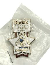 Vintage 1996 Atlanta Olympics Mascot Judo Kodak Collectible Sponsor Pin. New.