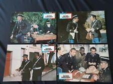 Lot de 16 photos d'exploitation de cinéma du film: SACRES GENDARMES de 1979