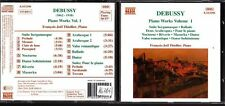 CD 1261  DEBUSSY  PIANO WORKS VOLUME 1