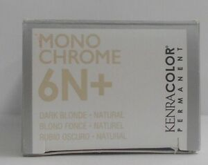 KENRA MONO CHROME Professional Permanent Shades With Balancing 5 Complex~3 fl oz