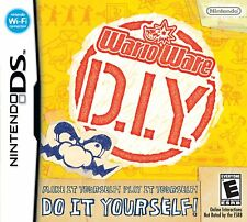 NEW WarioWare D.I.Y. - Nintendo DS WARIO WARE DIY DOIT YOUSELF RATED E