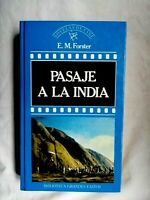 Pasaje a la India Colección Novelas de cine 1987 español Orbis