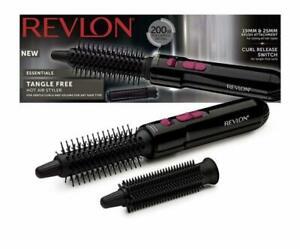 Revlon Tangle Free Hot Air Styler Drying Styling Curling Brush - RVHA6017UK