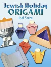 JEWISH HOLIDAY ORIGAMI ACTIVITY BOOK ~ LOTS OF FUN for the WHOLE FAMN DAMILY!