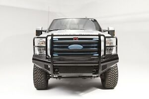 Fab Fours FS11-S2560-1 Black Steel Front Ranch Bumper