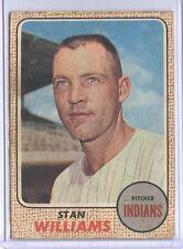 1968 Topps Venezuela #54 Stan Williams Cleveland Indians VG+