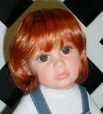 "DOLL Wig Monique ""Doris"" Size 6/7 in CARROT"