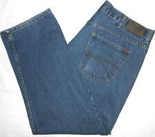 40x30 Tommy Hilfiger Slim Fit Blue Jeans 100% Cotton Men's Denim