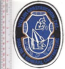 SCUBA Hard Hat Diving Massachusets Willem Construction, Inc Natick, MA on black