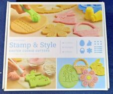 Stamp & Style Easter Cookie Cutters w/ Rollers - 14 pc. Set - Williams Sonoma