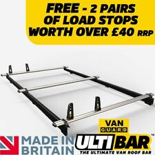Toyota Proace 3 Bars Roof Rack and Load Stops 2013-2016 AT113LS
