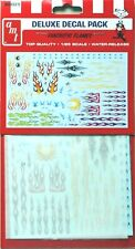 AMT #33 Fantastic Flames Custom Decals Sheet waterslide 1/25