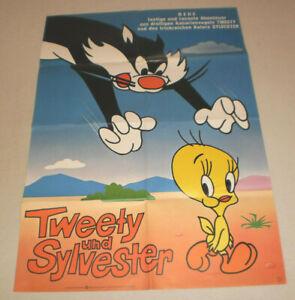 A1 Filmplakat ,TWEETY UND SYLWESTER, ZEICHENTRICK