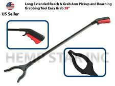 "Long Extended Reach & Grab Arm Pickup and Reaching Grabbing Tool Easy Grab 38"""