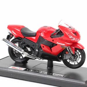 Maisto 1:18 Scale Kawasaki Ninja Zx-14rmotorcycle Racing Bike  Model Diecast Toy