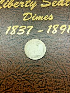 1873-S LIBERTY SEATED DIME