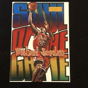 1998-99 Skybox Premium Soul Of The Game Michael Jordan #1 Chicago Bulls