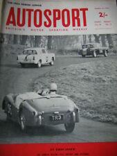 Autosport March 23rd 1962 * LANCIA FLAVIA TEST & Rob Walker profil *
