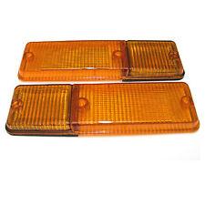 2x Blinkerglas für Lancia HF Delta Integrale Blinker vorne links und rechts NEU