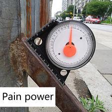 Magnetic Inclinometer ProtractorTilt Level Meter Angle Measure Clinometer Slope