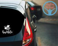 Be Humble Car Decal Sticker Religious Faith Cross Sign Language Jesus Decal
