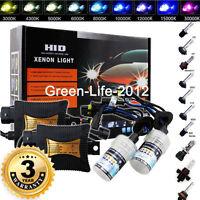 HID BI-Xenon Headlight Conversion KIT H1 H3 H4 H7 9005 9006 880/881 9004/7 Hi/Lo