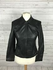 Women's Next Leather Jacket - UK12 - Black - Great Condition