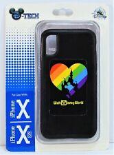 Disney Magic Kingdom Rainbow Pride Mickey Apple Iphone 10 X/XS Cellphone Case