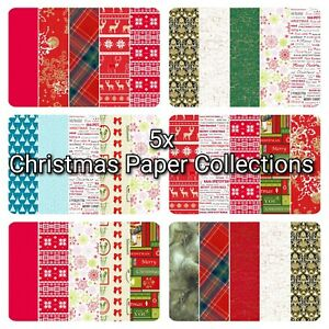 Christmas Decopatch Paper, Decoupage Paper Collection Packs