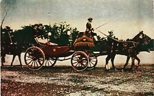 JAPAN Postcard Emperor Hirohito Horse Carriage Shōwa 昭和 {samwells}PC102