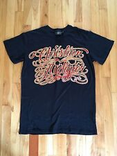 CHRISTIAN AUDIGIER Los Angeles 1958 T Shirt Mens M - Red Velvet Accents RARE