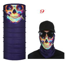 2017skull Clown Ski Cycling NECKTUBE Scarf Face Mask Balaclava Bandana Halloween 9
