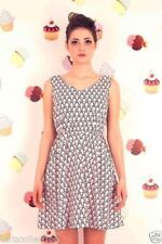 Retro Regular Dresses for Women with Pleated