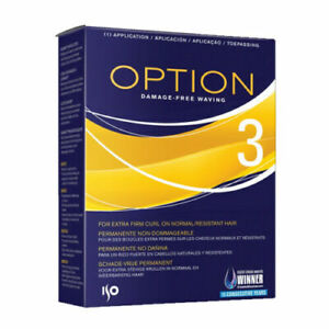 ISO Option 3 Perm For Extra Firm Curl on Normal and Resistant Hair